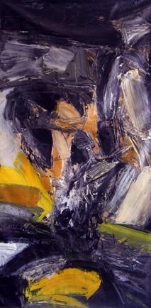 Guillermo Cuello painting Personaje Figural