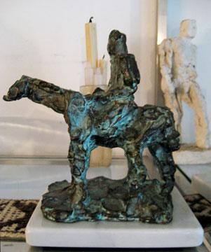 Aurelio Macchi bronze Gaucho