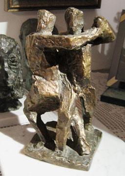 Aurelio Macchi sculpture Tango