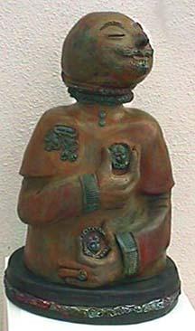 Annemarie Slipper ceramic sculpture