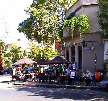 Outdoor Dining in Buenos Aires' Palermo Soho
