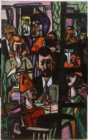 Max Beckmann painting