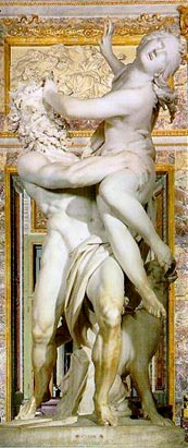 Bernini marble sculpture Pluto and Persephone