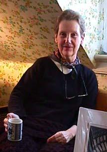 artist Babette Katz in her studio