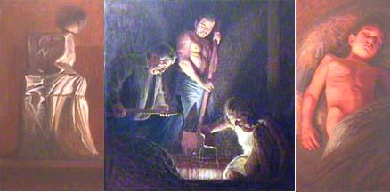 Bill Murphy triptych