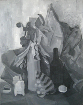 Catalina Chervin greyscale work with Eolo Pons