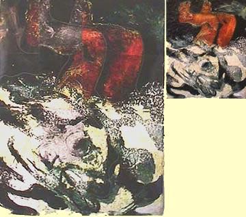 Hewitt painting Diver