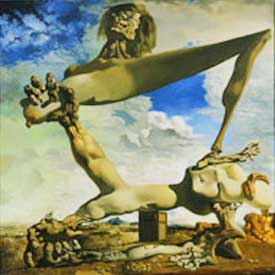 Salvador Dali surrealist painting