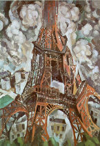 Robert Delaunay painting