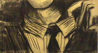 Debora Gilbert Ryan charcoal drawing Hot
