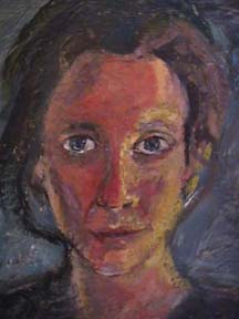 Debora Gilbert Ryan encaustic self portrait