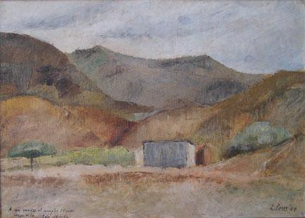 Eolo Pons landscape painting Loma de Tartagal
