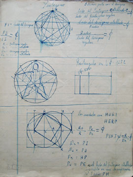 Eolo Pons drawing Octohedron