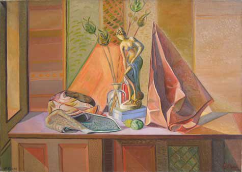 Eolo Pons still life painting