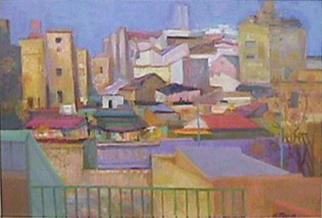 Eolo Pons painting Llega la Primavera
