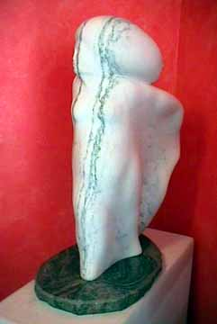 Edward Walsh vermont marble figure