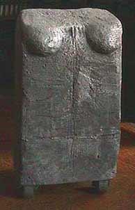 Frances Jetter aluminum sculpture Torso