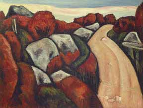 Marsden Hartley Blueberry Hill