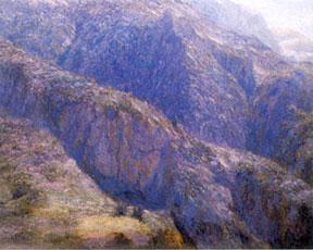 Cordillera painting Alfredo Helsby