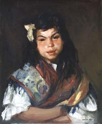 Ashcan school painting by Robert Henri