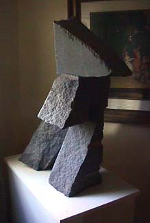 Harry Gordon granite sculpture