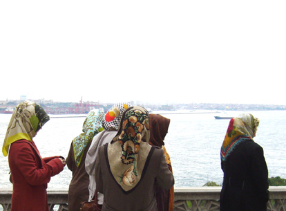 Headscarves at Topkapi