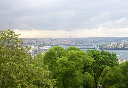 Bosphorus Strait from Topkapi Palace