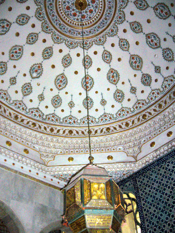 Tiled interior domb at Topkapi Palace