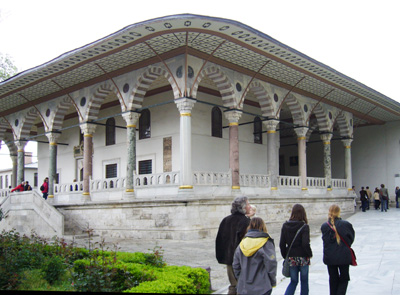 Library at Topkapi Palace