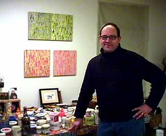 Jim Napierala in His Studio