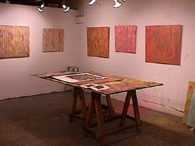 Jim Napierala's artist's studio