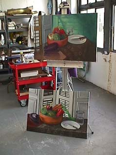 Still lifes in studio