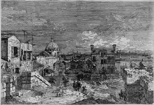 Canaletto etching