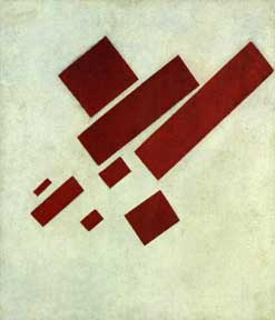 Malevich painting from 1915