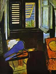 Matisse painting Interior with Violin