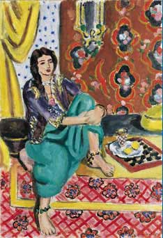 Matisse Odalisque in Cone Collection