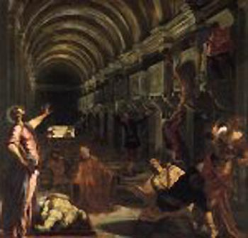 Tintoretto painting