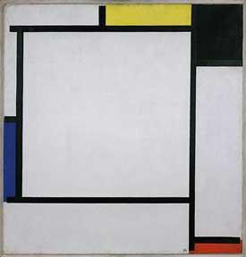 Mondrian painting 1922
