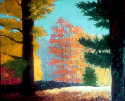 Margaret Speer New England painting Autumn