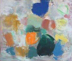 Van Deren unframed painting