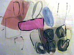 Nancy Van Deren monotype Algiers
