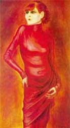 Otto Dix portrait of Anita Berber