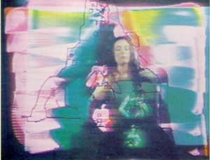 Nam June Paik image from Global Groove video