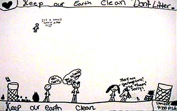 Editorial drawing Clean Earth