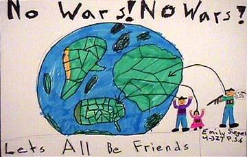 Editorial illustration No Wars