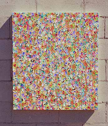 Richard Mock Abstract painting Song