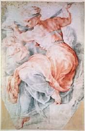 Rubens drawing Libyan Sybil