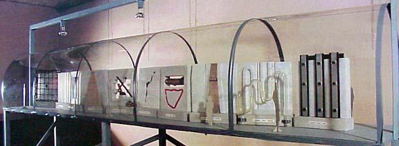 Tallarigo maquette for installation  il muro10 elementi