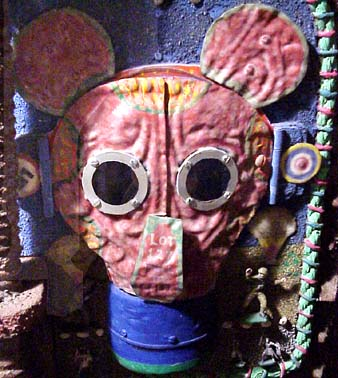 Tom Duncan Mickey Mouse gas mask