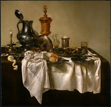 willem claesz heda still life painting